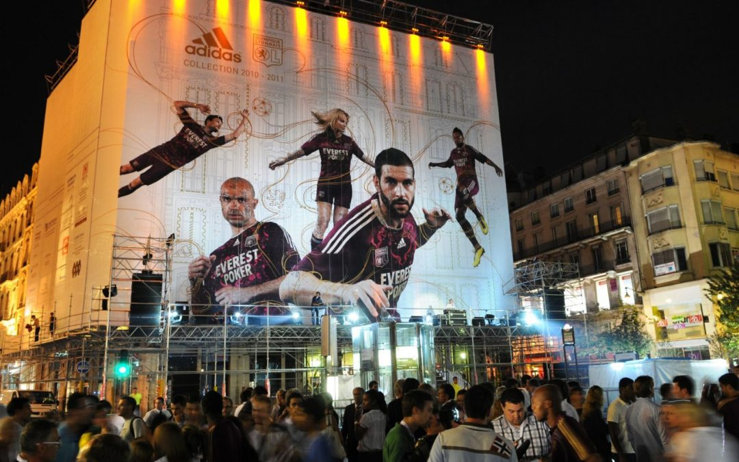 Adidas / OL Reveal du Maillot