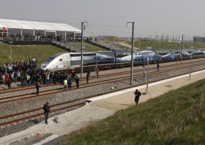 Record du monde de vitesse en TGV