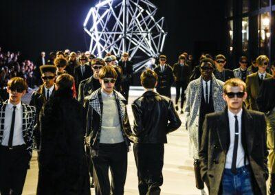 Défilé Celine Men Winter à La Concorde